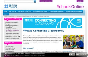 http://schoolsonline.britishcouncil.org/programmes-and-funding/linking-programmes-worldwide/connecting-classrooms