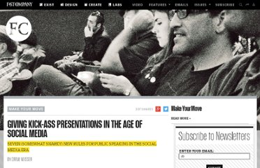 http://www.fastcompany.com/1792478/giving-kick-ass-presentations-age-social-media