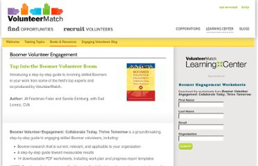 http://learn.volunteermatch.org/books/boomer-volunteer-engagement