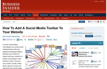 http://www.businessinsider.com/how-to-add-a-social-media-toolbar-to-your-website-2010-10?op=1