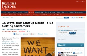 http://www.businessinsider.com/16-ways-your-startup-needs-to-be-getting-customers-2010-10?op=1#public-relations-1