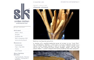 http://smittenkitchen.com/blog/2009/06/cheese-straws/