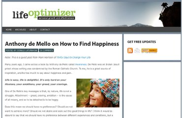 http://www.lifeoptimizer.org/2009/11/20/how-to-find-happiness/