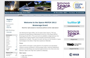 http://www.b2match.eu/spacematch2012