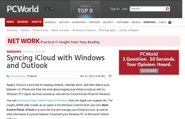http://www.pcworld.com/article/242401/syncing_icloud_with_windows_and_outlook.html