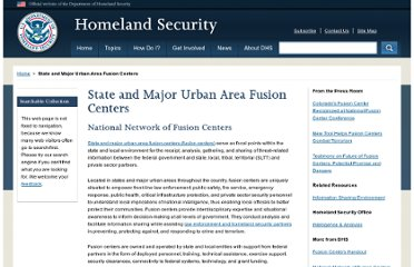 http://www.dhs.gov/state-and-major-urban-area-fusion-centers