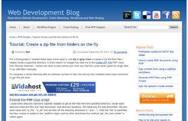 http://www.web-development-blog.com/archives/tutorial-create-a-zip-file-from-folders-on-the-fly/