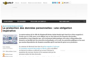 http://www.lagazettedescommunes.com/132231/la-protection-des-donnees-personnelles-une-obligation-imperative/
