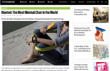 http://www.fastcompany.com/1615998/wanted-most-minimal-chair-world