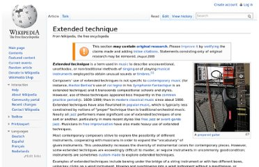 http://en.wikipedia.org/wiki/Extended_technique