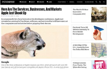 http://www.fastcompany.com/1840015/here-are-services-businesses-and-markets-apple-just-shook