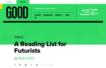 http://www.good.is/posts/a-reading-list-for-futurists