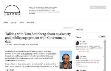 http://cloudofdata.com/2009/09/talking-with-tom-steinberg-about-mysociety-and-public-engagement-with-government-data/