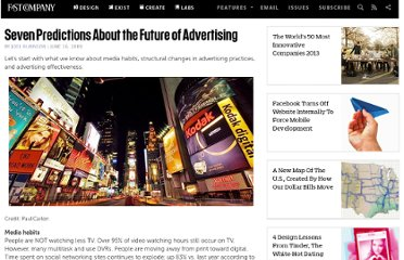 http://www.fastcompany.com/1295643/seven-predictions-about-future-advertising