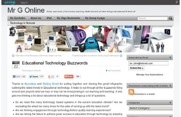 http://mgleeson.edublogs.org/2012/07/22/educational-technology-buzzwords/#.UF9GAKiW9iA.twitter
