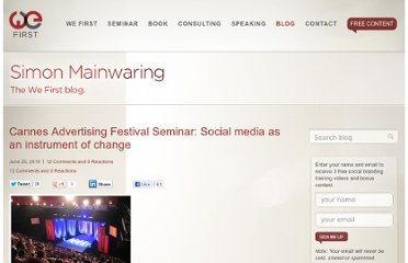 http://simonmainwaring.com/media/cannes-advertising-festival-seminar-social-media-as-an-instrument-of-change/