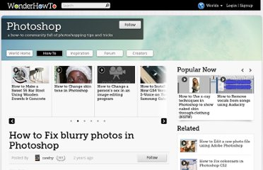http://photoshop-tutorials.wonderhowto.com/how-to/fix-blurry-photos-photoshop-297855/
