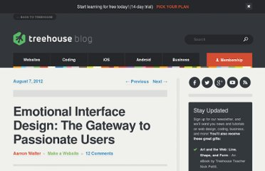 http://blog.teamtreehouse.com/emotional-interface-design-the-gateway-to-passionate-users