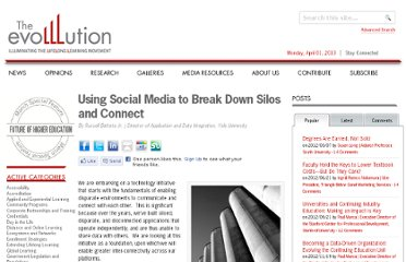 http://www.evolllution.com/community_programs/using-social-media-to-break-down-silos-and-connect/