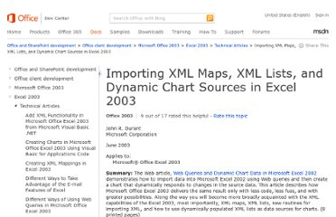 http://msdn.microsoft.com/en-us/library/office/aa203727(v=office.11).aspx#odc_xmllists--final_topic4