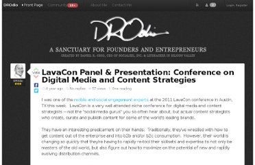 http://danielodio.com/lavacon-panel-presentation-conference-on-digital-media-and-content-strategies