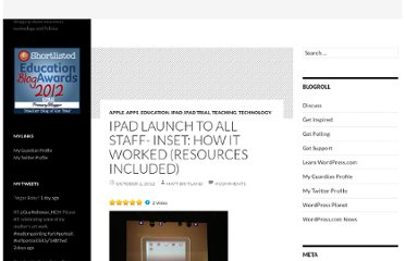 http://mattbritland.com/2012/10/02/ipad-launch-to-all-staff-inset-how-it-worked-resources-included/