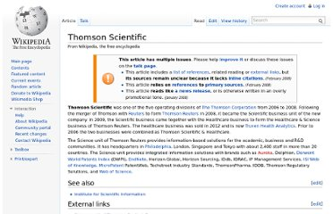 http://en.wikipedia.org/wiki/Thomson_Scientific