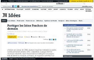 http://www.lemonde.fr/idees/article/2012/10/04/proteger-les-irene-frachon-de-demain_1770171_3232.html