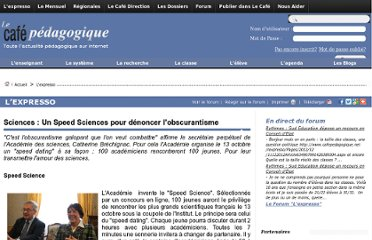 http://www.cafepedagogique.net/lexpresso/Pages/2012/10/04102012Article634849320200537454.aspx