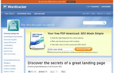 http://www.wordtracker.com/academy/optimization-landing-page