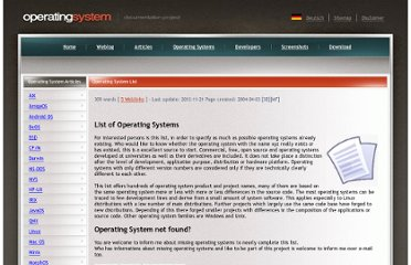 http://www.operating-system.org/betriebssystem/_english/os-liste.htm