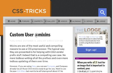 http://css-tricks.com/custom-user-mixins/