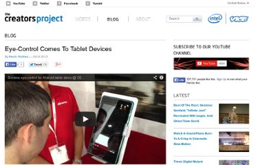http://thecreatorsproject.com/blog/eye-control-comes-to-tablet-devices
