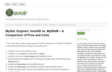 http://www.kavoir.com/2009/09/mysql-engines-innodb-vs-myisam-a-comparison-of-pros-and-cons.html