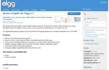 http://community.elgg.org/plugins/512770/1.6/group-widgets