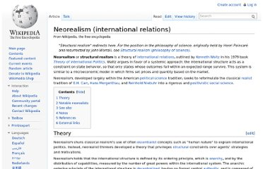 http://en.wikipedia.org/wiki/Neorealism_(international_relations)