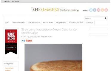 http://shesimmers.com/2010/08/strawberry-mascarpone-cream-cake-or-ice-cream-cake.html