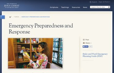 http://www.lds.org/topics/emergency-preparedness