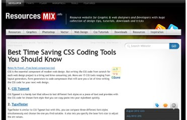 http://resourcesmix.info/best-time-saving-css-coding-tools-you-should-know/