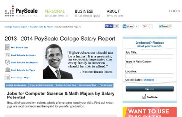 http://www.payscale.com/college-salary-report-2013/computer-science-and-math-jobs