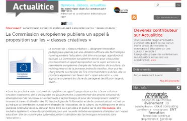 http://www.actualitice.fr/la-commission-europeenne-publiera-un-appel-a-proposition-sur-les-classes-creatives