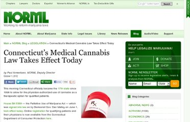 http://blog.norml.org/2012/10/01/connecticuts-medical-cannabis-law-takes-effect-today/