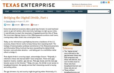 http://www.texasenterprise.utexas.edu/article/bridging-digital-divide-part-1