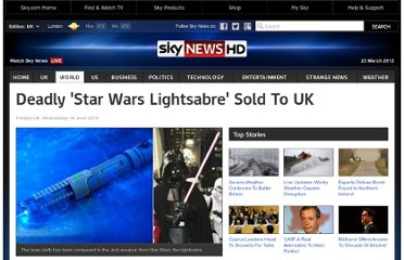 http://news.sky.com/story/786326/deadly-star-wars-lightsabre-sold-to-uk