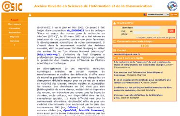 http://archivesic.ccsd.cnrs.fr/index.php?halsid=dcpb2k8irntdmdcqdsnseuecj5&action_todo=home