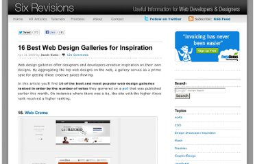 http://sixrevisions.com/web_design/16-best-web-design-galleries-for-inspiration/