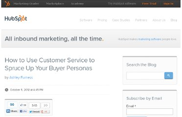 http://blog.hubspot.com/blog/tabid/6307/bid/33685/How-to-Use-Customer-Service-to-Spruce-Up-Your-Buyer-Personas.aspx