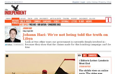 http://www.independent.co.uk/voices/commentators/johann-hari/johann-hari-were-not-being-told-the-truth-on-libya-2264785.html