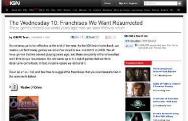 http://www.ign.com/articles/2008/12/04/the-wednesday-10-franchises-we-want-resurrected