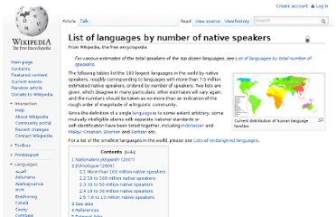 http://en.wikipedia.org/wiki/List_of_languages_by_number_of_native_speakers#50_to_100_million_native_speakers